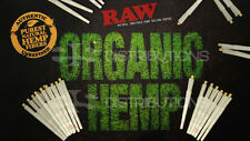 RAW Organic 1 1/4 Size Pre-Rolled Cones (75 Pack)