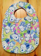 Snoopy / Peanuts - Baby Lätzchen bunt flauschig / aus USA / Einzelstück / NEU