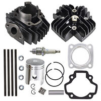 Cylinder Piston Gasket Head Top End Kit for Yamaha PW50 1981-2018