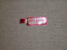 Vintage Barbie - Pink Wrist Tag