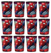 Marvel Spider-Man Lot of 12 16oz Party Plastic Cup ~Party Favor Supplies
