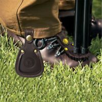Tourbon Toe Rest Shoe Protector Pad Gun Target Clay Barrel Shooting Real Leather