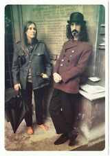 Frank Zappa with Pamela Zarubica aka Suzy Creamcheese Modern Postcard