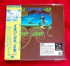 Yes Yessongs JAPAN 2 SHM MINI LP CD WPCR-13517-18