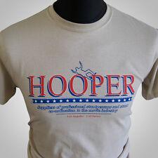 Hooper Retro Movie Themed T Shirt Burt Reynolds Stuntman Trans Am 1978 Sand