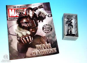War Machine Statue Marvel Classic Collection Die-Cast Figurine Iron Man New #101