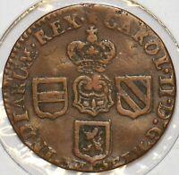 Spanish Netherlands 1672 Liard 491333 combine shipping
