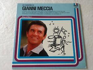 Meccia Gianni Le Chansons Di Gianni Meccia LP Rca NL33171 Italie Chanson 1981