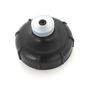 FABRIC CAGELESS GRIPPER BOTTLE BICYCLE BOTTLE TOP CAP BLACK NEW FREE UK P&P
