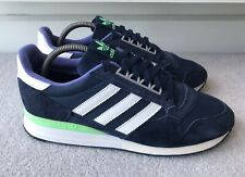 Adidas Mens ZX 500 OG 2014 Trainers Ink Navy Blue White Green Size UK 8 EU 42