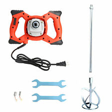 Electric Handheld Concrete Mixer Drill 1600w Portable Cement Mixing Stirrer Us