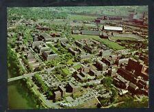 E272 Chrome Postcard 6.5x9 Air view MN Campus Univ of MN
