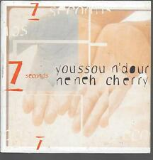 CD SINGLE 2 TITRES--YOUSSOU N'DOUR & NENEH CHERRY--7 SECONDS--1994