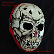 FIBERGLASS STREET NHL ICE HOCKEY GOALIE HELMET MASK Gary Bromely Skelator HO34