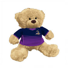 NRL Plush Teddy Bear With Jersey - Melbourne Storm - 7 Inch Tall - BNWT