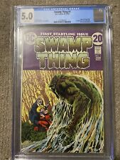 Swamp Thing 1 CGC 5.0