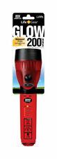 Life Gear  Glow  8 lumens Red  LED  Flashlight  AA Battery