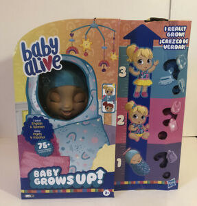 Baby Alive Grows Up! Sku 5010993744701 Speaks Spanish/English 75+ Sounds/phrases