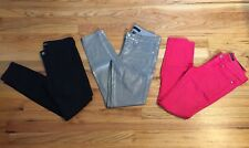 Bebe Colored Skinny Jeans Pants Lot Size 26