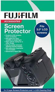 Fujifilm Screen Protector for 3 inch Digital Camera Screen