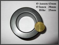 Ferritkern Ringkern Transformatorkern Toroid Core 63x38x25mm 1 Stück
