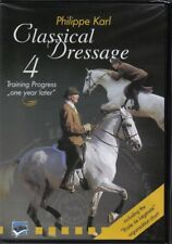 HORSE DVD D135 CLASSICAL DRESSAGE VOL 4 PHILLIPE KARL French riding master.