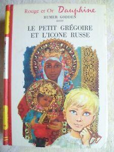 Bibliothèque Rouge et or - Rumer Godden - Le petit Grégoire et l'icone russe