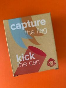 capture the flag + kick the can Wendy's Kids' Meal Toy