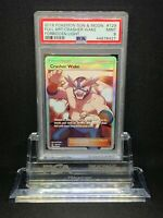 Pokemon Crasher Wake 129/131 Full Art Holo Rare Forbidden Light PSA 9 Mint