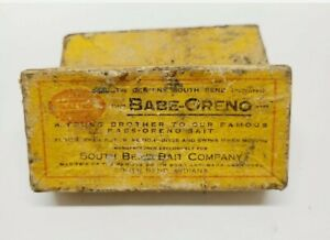 Box for 1920's south bend # 972 wood lure  for ***ramars35 ONLY