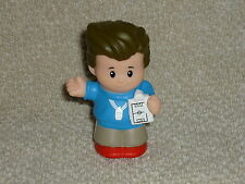 Fisher Price Little People Ball Coach Man Dad Whistle New