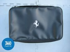 NEW GENUINE FERRARI EXTERIOR CLEANING CAR CARE KIT WITH STORAGE BAG 70002173
