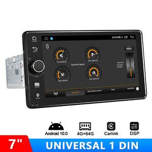 "Joying Newest 7"" Single Din Android 10.0 CarPlay & Android Auto Car Media Player"