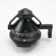Nikon Achr 090 Swing Out Microscope Condenser For Eclipse Microscopes