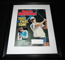 Scott Simpson Signed Framed 1987 Sports Illustrated Cover