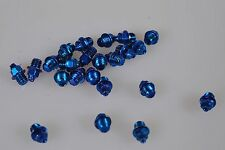 Reverse Pins 24 St. blau Stahl M4 Pedalzubehör Pedale Blue