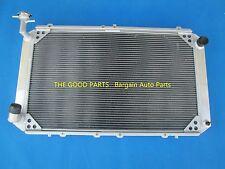 Radiateur en aluminium pour 3 rangée de NISSAN PATROL GQ 2.8 4.2 Diesel TD42 & 3.0 Essence Y60