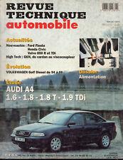RTA revue technique l'expert automobile n° 581 AUDI A4 1.6 1.8 1.9 TDI