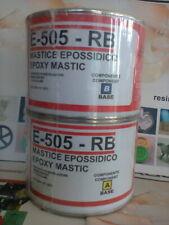 Colla Mastice epossidico professional bicomponente E-505 RB Prochima E505 700 gr