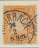 Bavaria (German State) Stamp Scott #55, Used