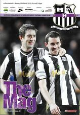 Football Programme>NOTTS COUNTY v AFC BOURNEMOUTH Mar 2010