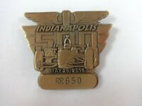 2014 Indianapolis 500 RR650 Bronze Pit Badge Ryan Hunter-Reay Andretti Autosport