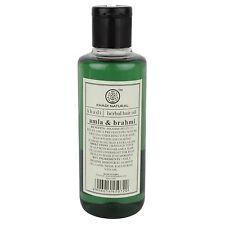 2 X 210ml Khadi Natural Ayurvedic Amla & Brahmi Hair Oil