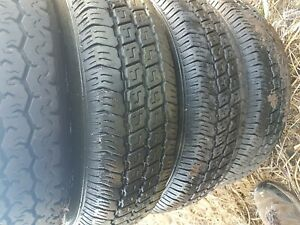 Ford transit  ( I think?) rims and tyres set of 4    185 R 14