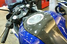 Carbon Fiber Fuel Tank Cover Gas Tank Cover for YAMAHA YZF- R3 R3 YZF-R25 R25
