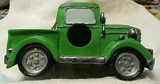 Bird House Old Style Green Pick Up Truck Decoration Unique 1937 Farm Nos Nwot