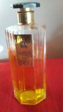 Lanvin vintage Arpege Art deco bottiglia ottagonale splash raro 100ml