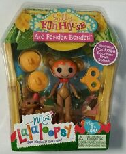 Mini Lalaloopsy Silly Fun House Doll Ace Fender Bender New