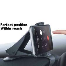 Adjustable Antiskid Car Phone Holder Clip HUD Design Dashboard Mount Universal