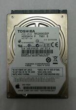 TOSHIBA MK2555GSXF 250GB SATA Laptop Drive HDD2H74 P TW01 S Firmware:D2/FH305B